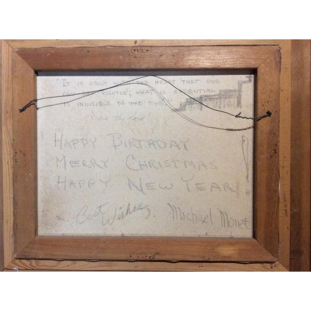 Antique Framed Impressionism Signed Painting For Sale - Image 10 of 11