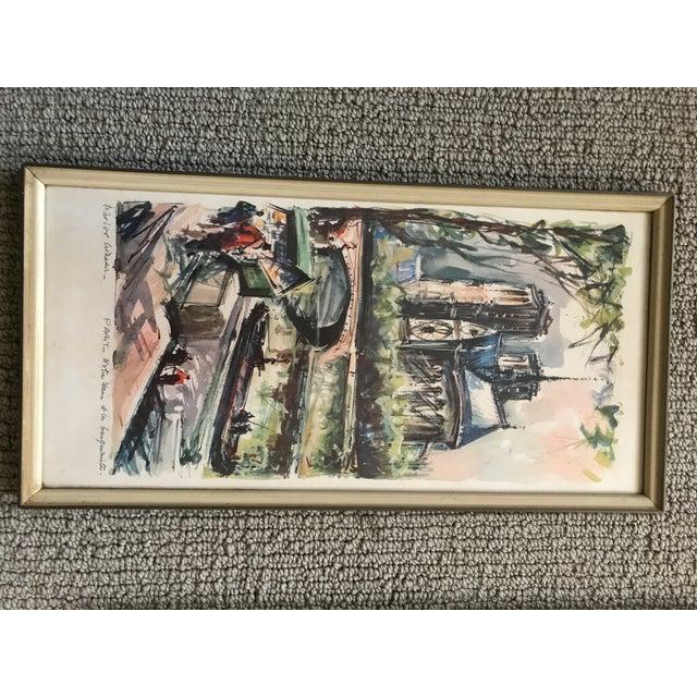 Framed Marius Gerard Prints - Set of 3 For Sale - Image 5 of 5