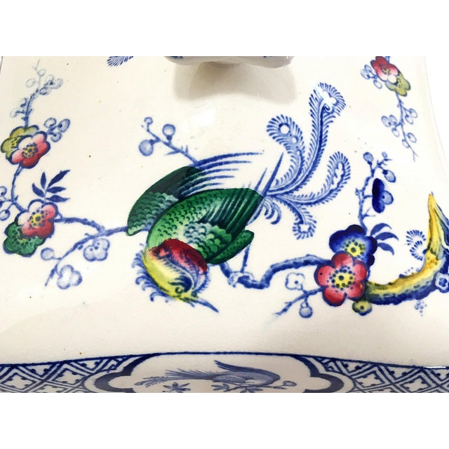Asian 1890s Lawleys Covered Tureens - A Pair For Sale - Image 3 of 11