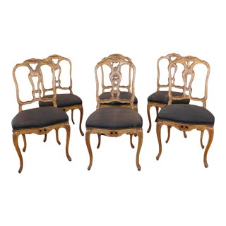 Continental Craftsmen French Country Dining Chairs - Set of 6 For Sale