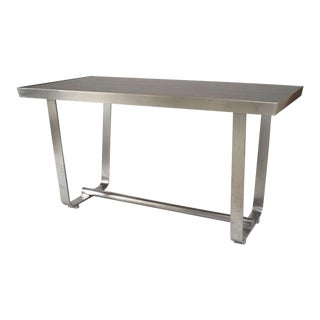 American Aluminum Center Table For Sale