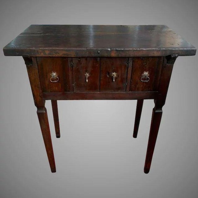 17th Century Spanish Walnut Campaign or Tavern Table For Sale - Image 11 of 11