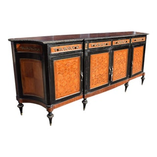 French Mahogany Inlaid Sideboard For Sale