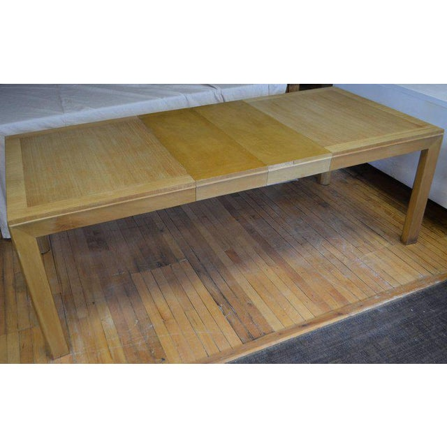 Dining Table With Two Leaves Designed by Robsjohn-Gibbings for Widdicomb For Sale - Image 11 of 13