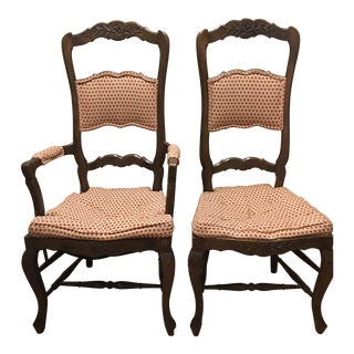 Baker Ladder Back Chairs - a Pair