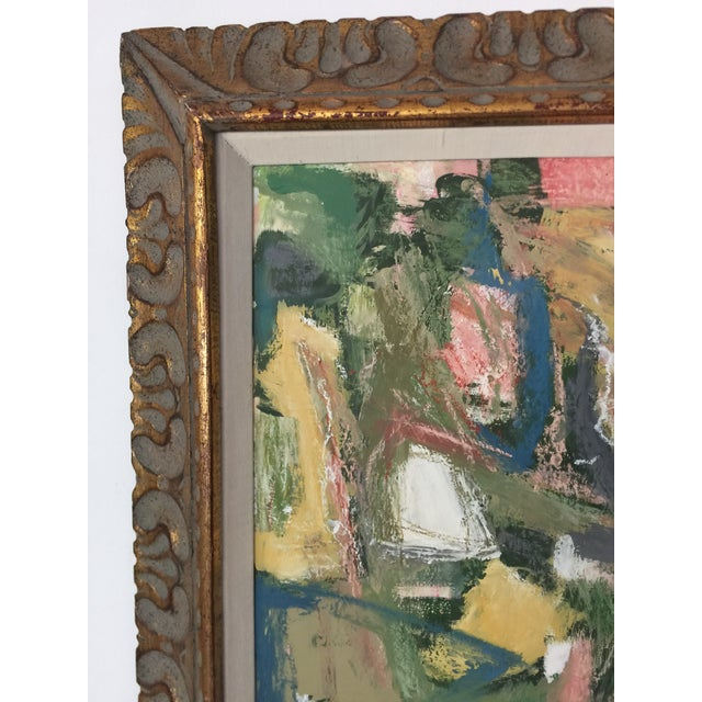 2010s Abstract Expressionist Painting Kimberly Moore For Sale - Image 5 of 7