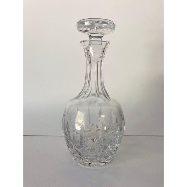 Vintage Atlantis Cut Crystal Decanter For Sale In New York - Image 6 of 6