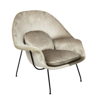 1950s Vintage Eero Saarinen Womb Chair For Sale
