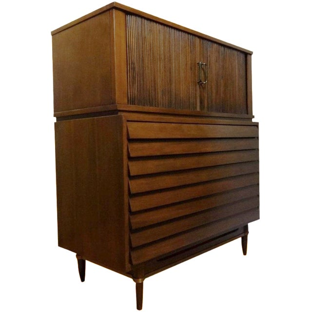 American of Martinsville Dania Highboy Chest - Image 1 of 8