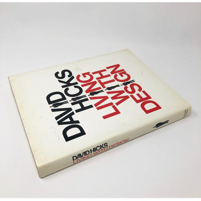 Mid-Century Modern David Hicks Living With Design Hardback Design Book For Sale - Image 3 of 12