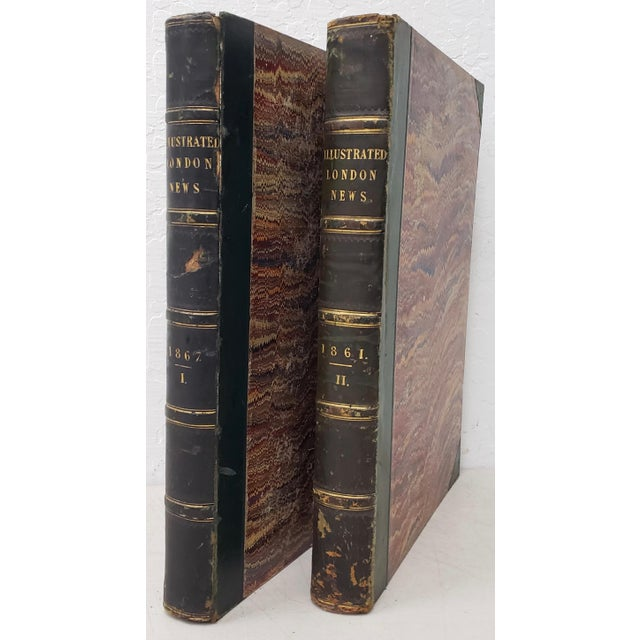 Two Volumes Illustrated London News Books 861 and 1867 - Set of 2 For Sale - Image 13 of 13