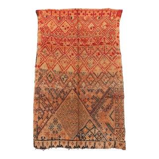 """Beni M'guild Vintage Moroccan Rug, 6'3"""" X 9'7"""" For Sale"""