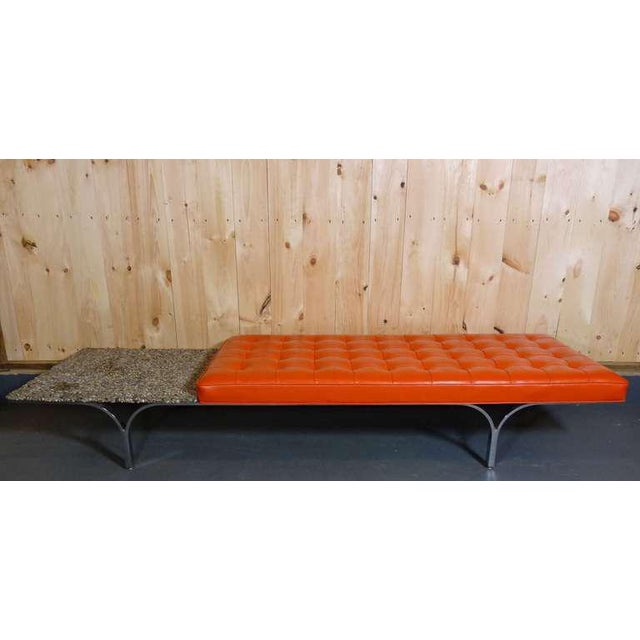 Mid-Century Modern Rare Bench by Erwin and Estelle Laverne For Sale - Image 3 of 9