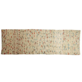 """Distressed Oushak Runner - 2'4"""" X 7'1"""" For Sale"""