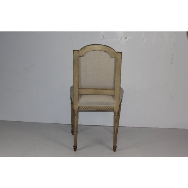 Louis XVI Style Accent Chair - Image 6 of 6