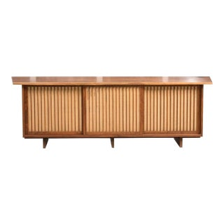 George Nakashima Triple Sliding Door Cabinet, 1968