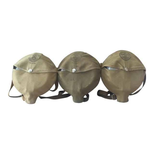 Vintage Boy Scouts Camping Mess Kits - Set of 3 For Sale