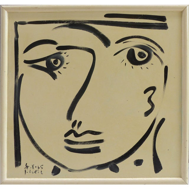 1976 Self Portrait Painting by Peter Keil For Sale - Image 9 of 9