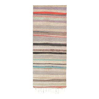 Mid 20th Century Moroccan Rug- 4′3″ × 10′11″ For Sale