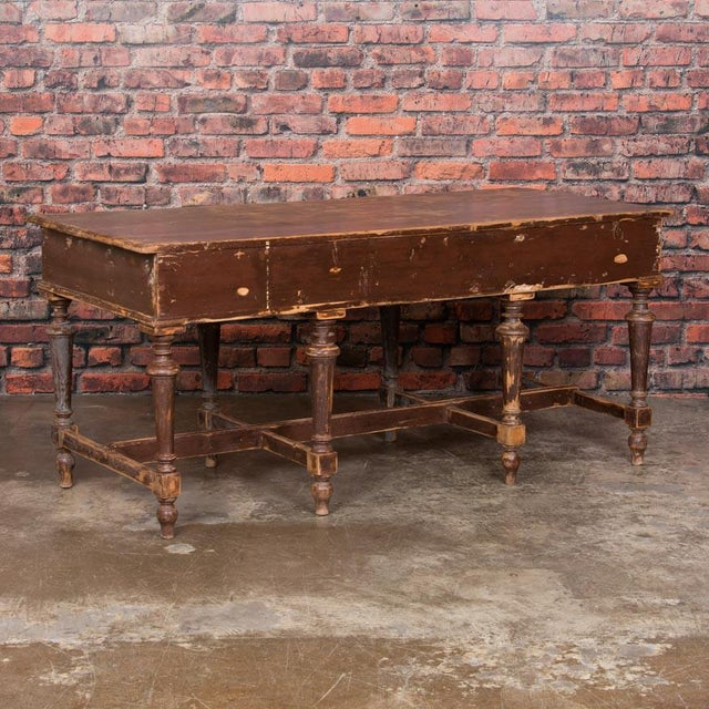 19th Century Country Work Table For Sale - Image 4 of 9