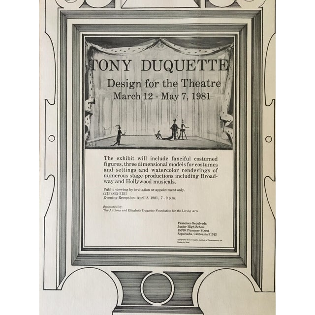 Paper Tony Duquette Posters - A Pair For Sale - Image 7 of 8