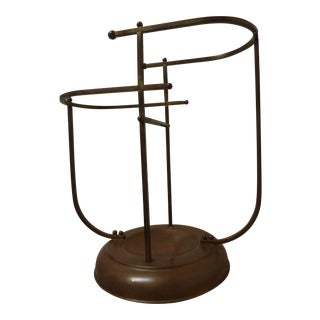 Mid-Century Brass Umbrella Stand