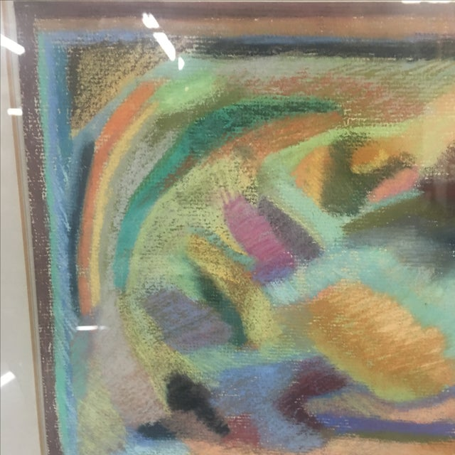 Original Pastel Abstract Artwork by Eda Warren - Image 4 of 6