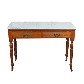 Marble Top Table/Washstand For Sale