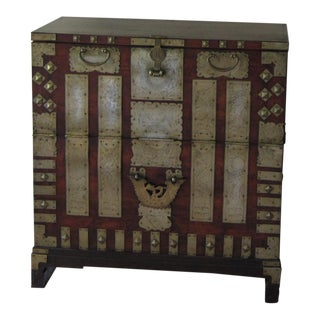 Antique 20th C. Asian Chest For Sale