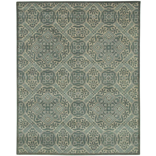 Vintage Ivory Traditional Pattern Rug - 5' x 8' - Image 5 of 5