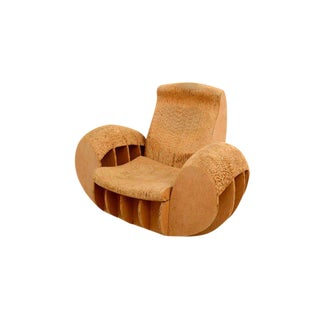 Cardboard Rocker Easy Edges Attributed to Frank O Gehry For Sale