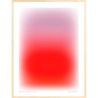 """""""Color Cloud 11"""" Contemporary Abstract Print by Jessica Poundstone, Framed For Sale"""