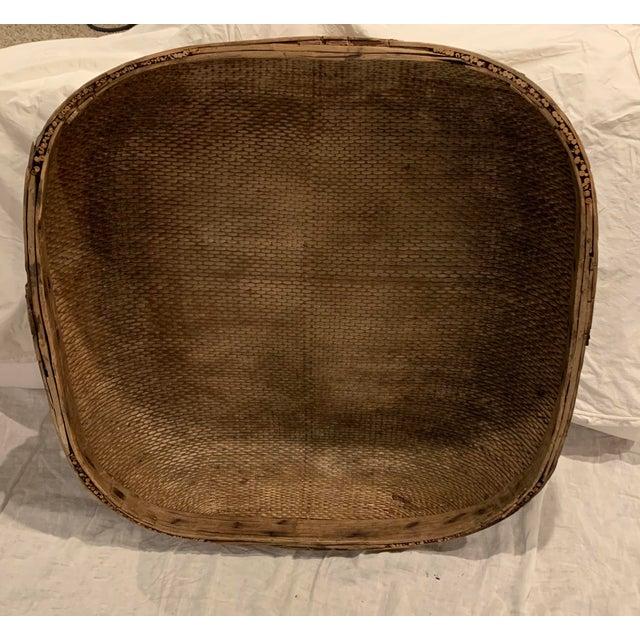 Vintage Asian Market Basket For Sale In Columbus - Image 6 of 9