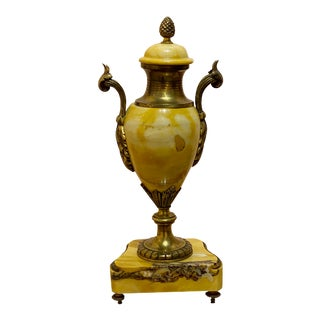 Antique Louis XVI Style Marble Vase For Sale