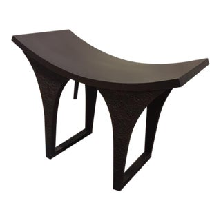 Contemporary Global Views Cast Iron Bench