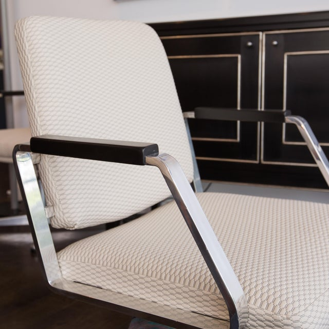 Vintage Office Swivel Chairs - Pair - Image 6 of 6