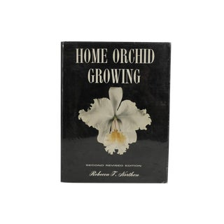 "1962 ""Home Orchid Growing"" Book"