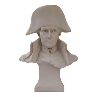 Antique Parian Bust of Napoleon Bonaparte For Sale