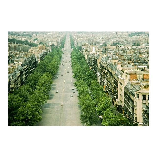 1950s Vintage Paris France Photograph Print For Sale