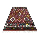 Image of Mid 20th Century Turkish Kilim Rug-5′5″ × 9′4″ For Sale