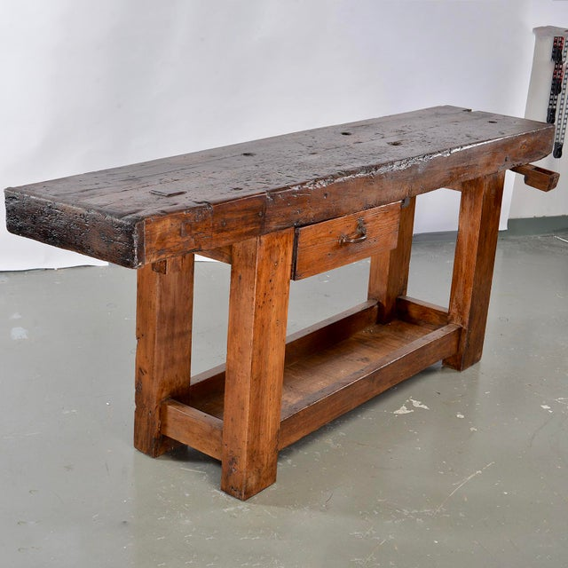 19th Century French Carpenters Workbench Table For Sale - Image 13 of 13