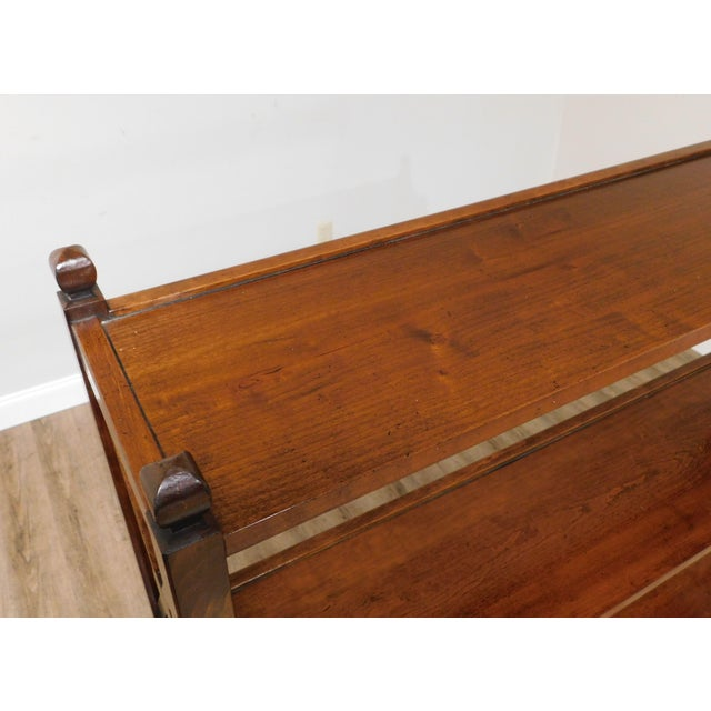 Brown Grange French Cherry 4 Tier Bookshelf For Sale - Image 8 of 13