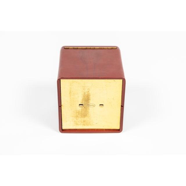 Vintage Demley Art Deco Red Cigarette Box For Sale - Image 9 of 10