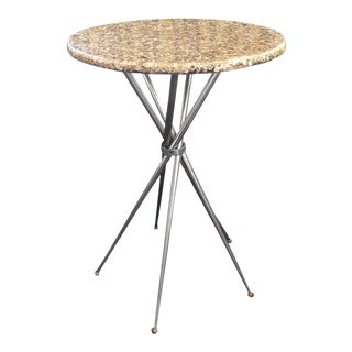 Five-Leg Base Gueridon Table For Sale