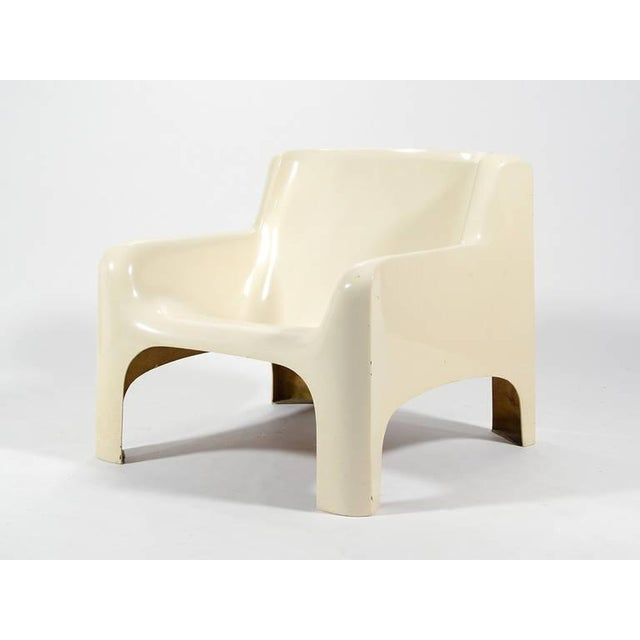 "Carlo Bartoli ""Gaia"" Lounge Chair by Arflex For Sale - Image 5 of 9"