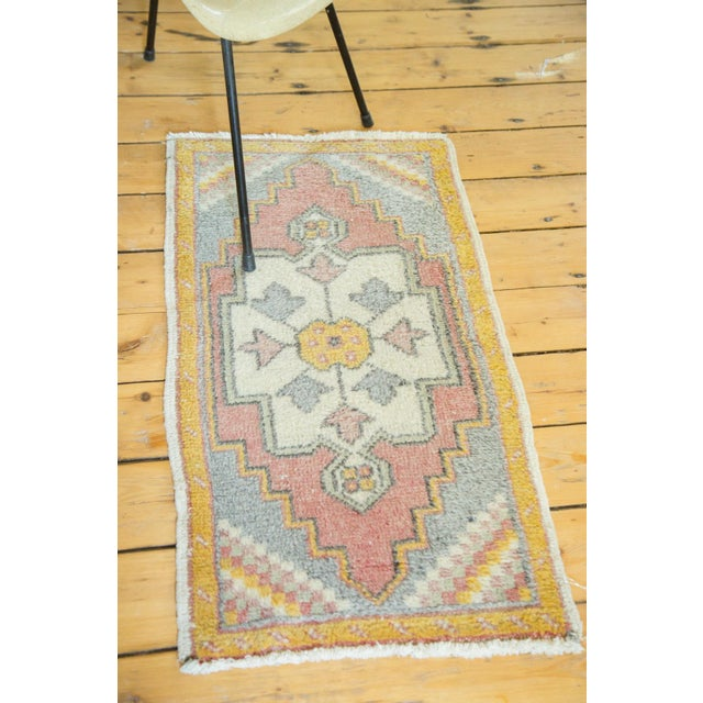 "Vintage Turkish Oushak Rug - 1'9"" x 3'3"" - Image 6 of 6"