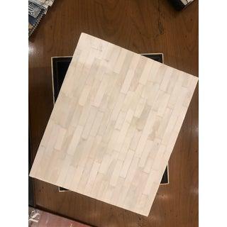 Modern Ivory Bone Box Preview