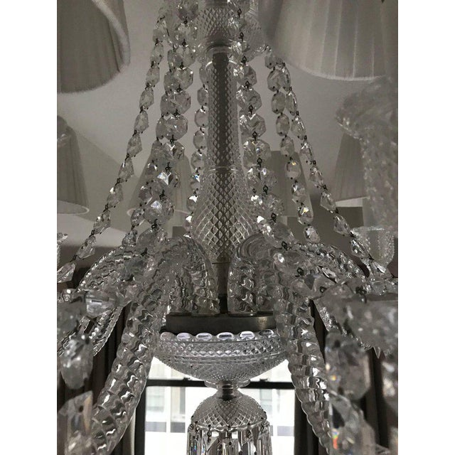 1920s Baccarat Zenith Eight-Light Chandelier For Sale - Image 5 of 9