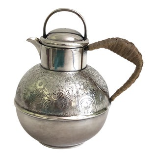 Antique English Silver Teapot For Sale