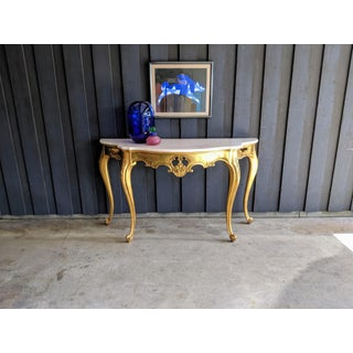 1960s Weiman Marble & Gilt Console Preview